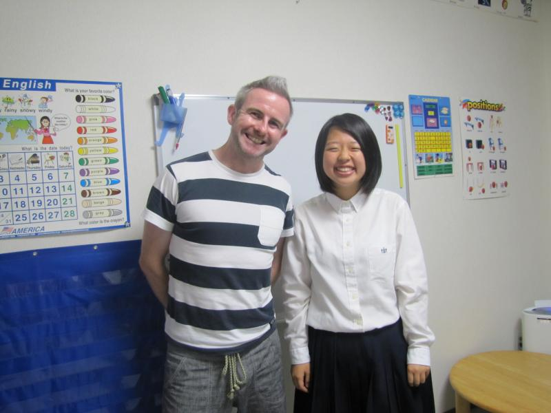 A sad goodbye to Maho Ino.  It's been a great six years. Good luck in Uni.